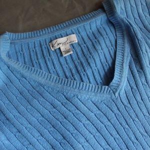 Blue Kim Rogers Sweater